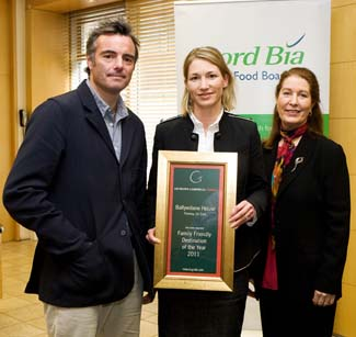 Family Friendly Hotel of the Year 2011 - Ballyvolane House Fermoy County Cork ireland