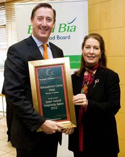 Green Ireland Hospitality Award 2011 - Ballynahinch Castle Hotel Recess County Galway ireland