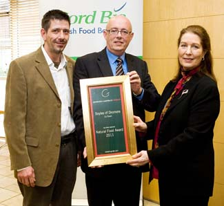 Natural Food Award 2011 - Boyles of Dromore County Down