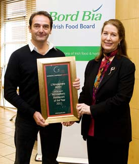 Atmospheric Restaurant of the Year 2011 - lAtmosphere Waterford County Waterford Ireland