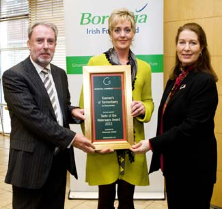 Taste of the Waterways Award - Keenans of Tarmonbarry County Roscommon