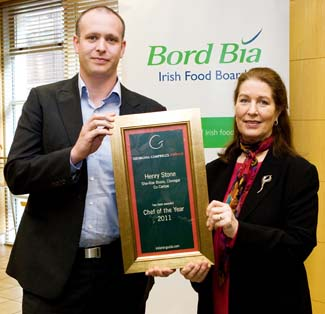 Chef of the Year 2011 - Henry Stone of Sha Roe Bistro Clonegal County Carlow