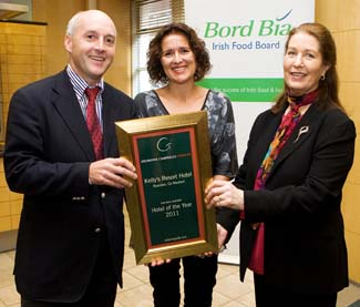 Bill & Isabelle Kelly - Hotel of the Year 2011