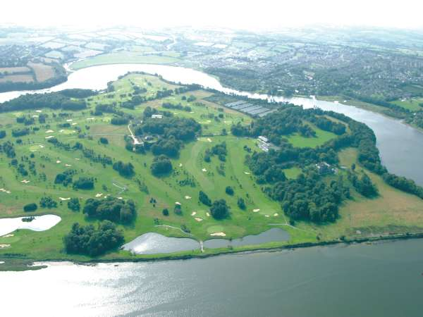 Aerial View of Waterford Castle GC