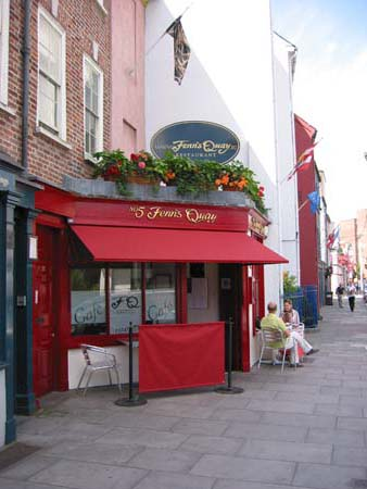 Fenns Quay Restaurant - Cork City