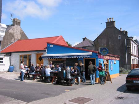 Out of the Blue Restaurant - Dingle County Kerry Ireland