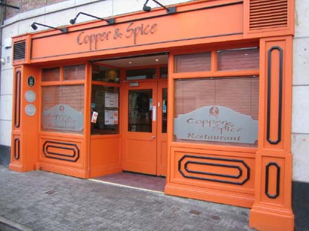 Copper and Spice Restaurant, Limerick, County Limerick