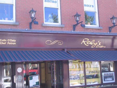 Rolys Bistro, Ballsbridge, Dublin 4
