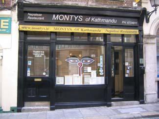 Montys of Kathmandu - Nepalese Restaurant Dublin - Temple Bar Dublin 2 Ireland