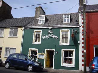 The Half Door - Restaurant Dingle County Kerry ireland