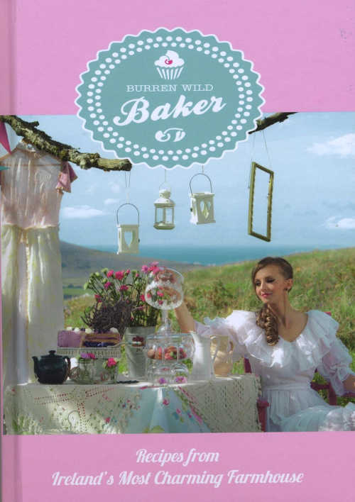 Burren Wild Baker, Recipes from Ireland's Most Charming Farmhouse, by Kasha Connolly (Hazel Mountain Publications 2014, hardback 78pp €20).