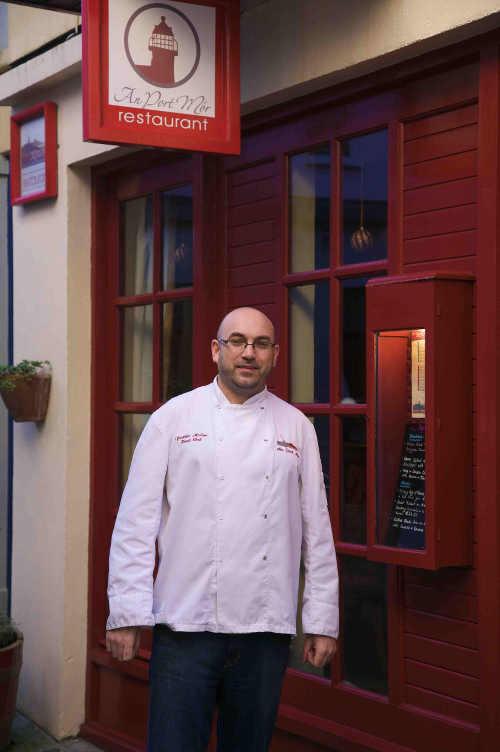 Frankie Mallon, An Port Mór Restaurant, Westport, Co Mayo