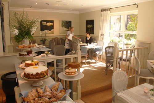 garden tea room perryville house kinsale co cork - Cork Restaurant 2015