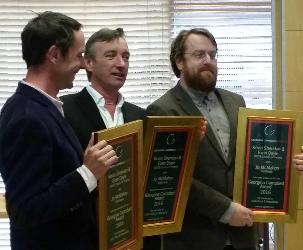 Georgina Campbell Award 2016 - Kevin Sheridan, Evan Doyle & Jp McMahon