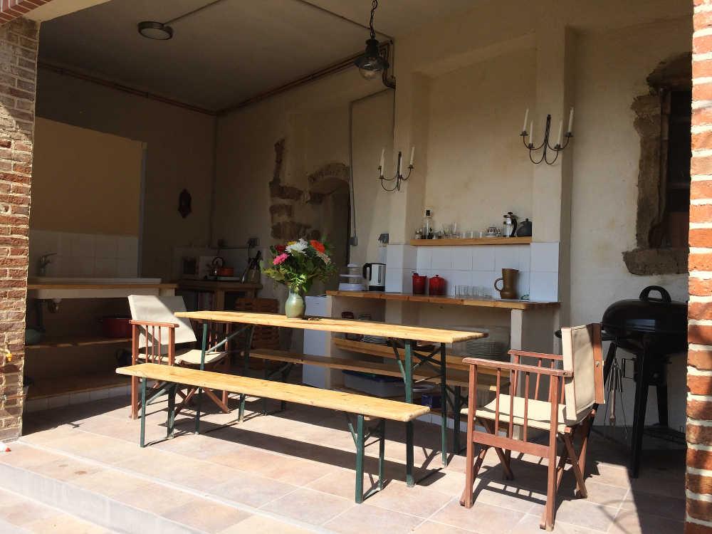 La Cuisine d' Été ('Summer Kitchen')