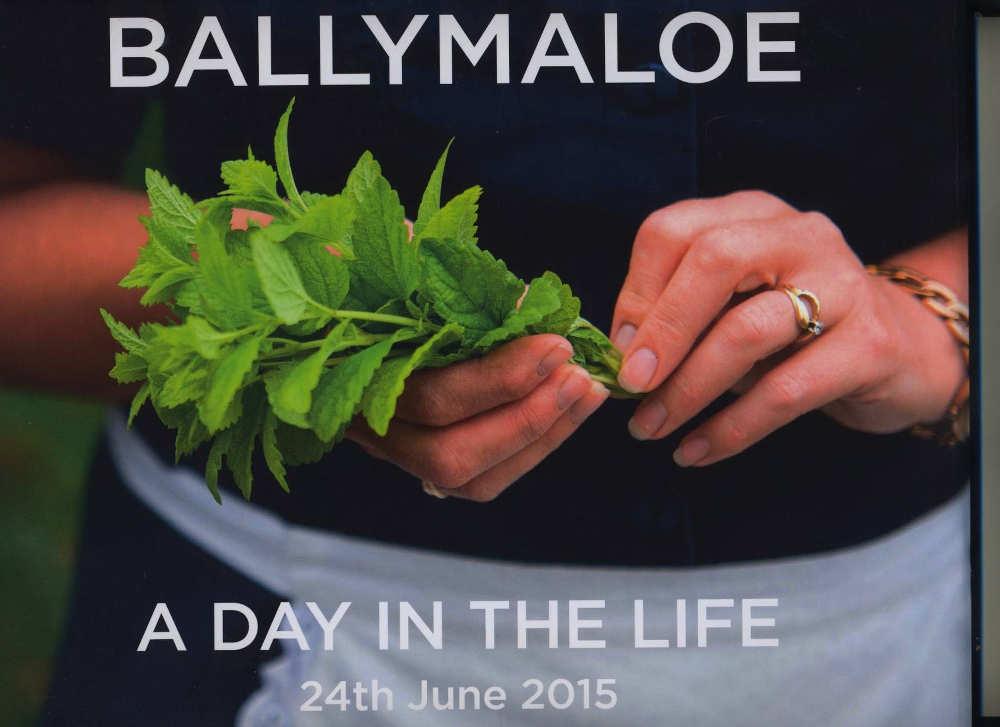 Ballymaloe - A Day in the Life, 24th June 2015, by Daphne Spillane; photography by Joleen Cronin and Leila Aldous (Trijar Publishing, hardback, 96pp; €25)