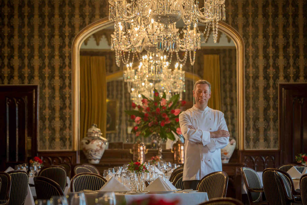 David McCann, Executive Head Chef, Dromoland Castle, Co Clare