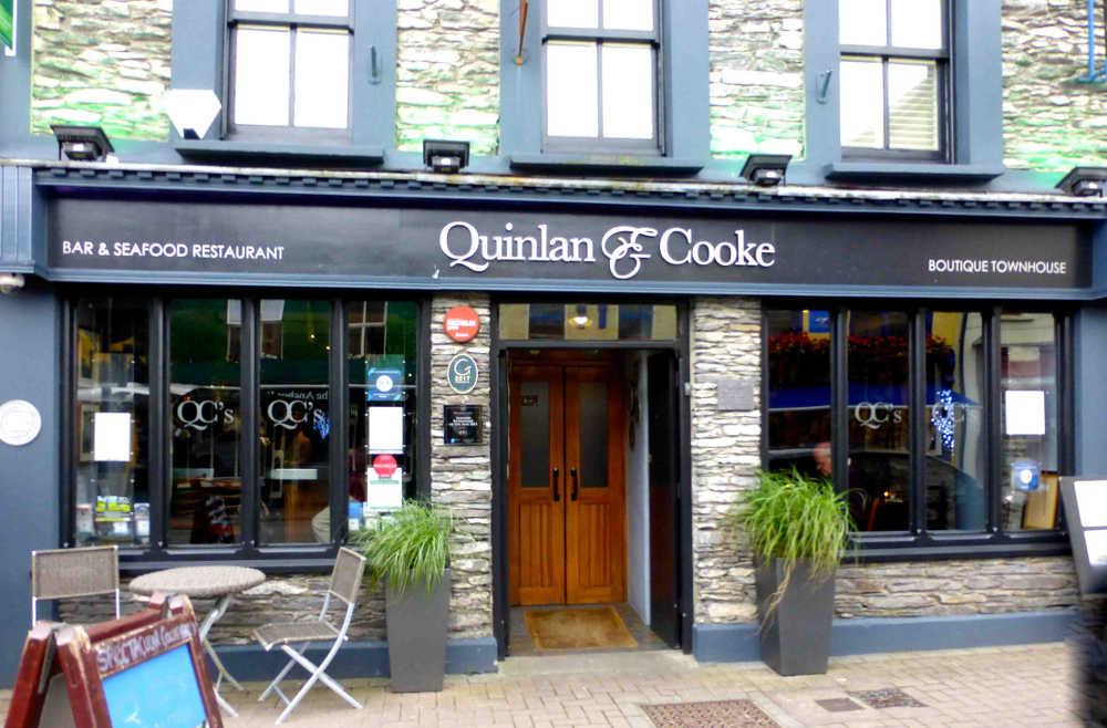 Quinlan & Cooke Boutique Townhouse and Seafood Restaurant, Caherciveen, Co Kerry