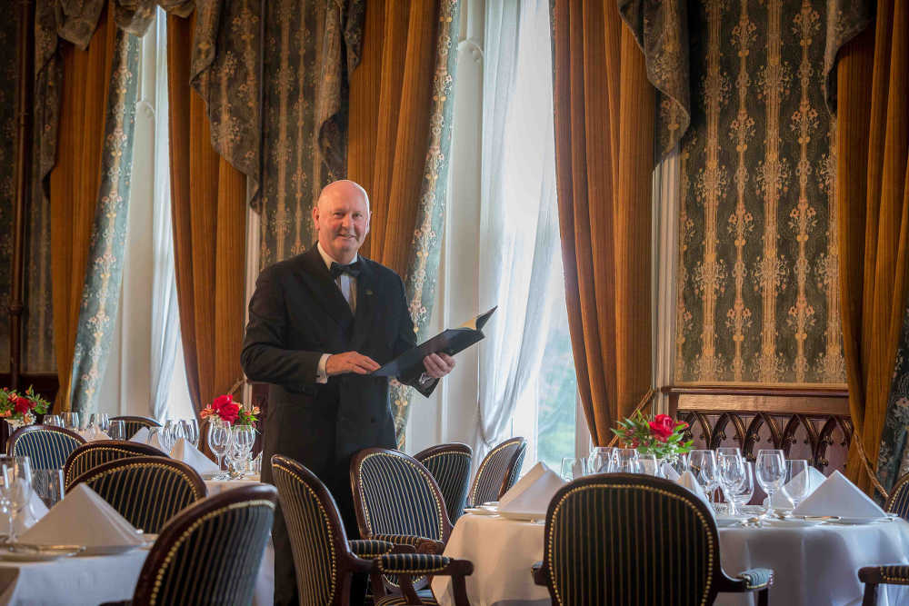 Tony Frisby, Earl of Thomond Restaurant, Dromoland Castle, Co Clare