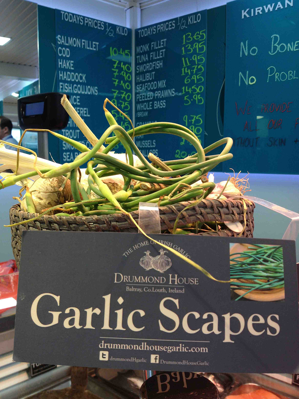 Drummond House Garlic Scapes for sale