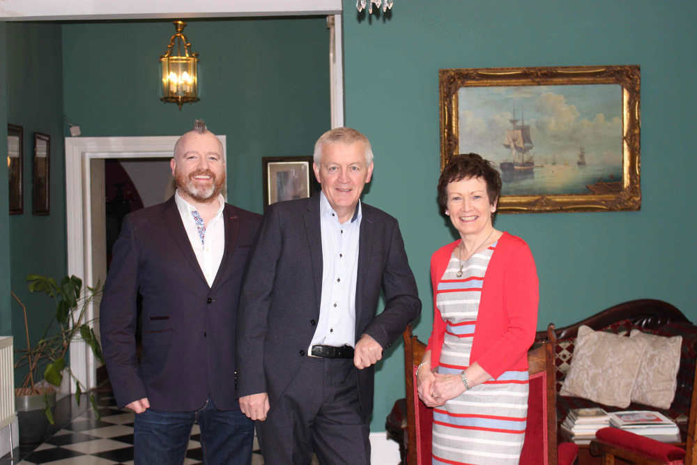 James & Beryl Kearney and Gary O'Hanlon, Viewmount House, Longford, Co Longford