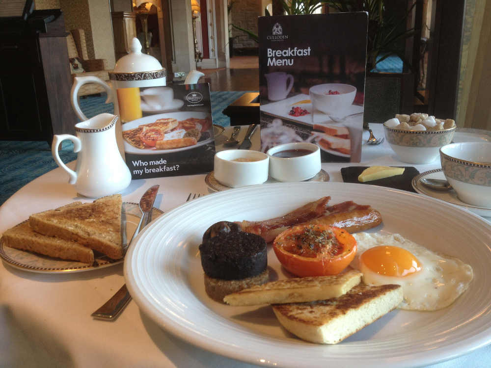 Hastings Culloden Estate & Spa Breakfast