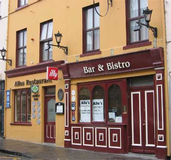Allos Restaurant and Bar, Listowel, County Kerry
