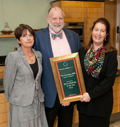 B&B of the Year 2013 | The Archways B&B, Rosslare, Co Wexford