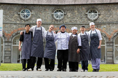 Team at Kilkenny Design Centre Restaurant