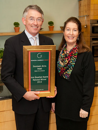 Hotel Breakfast of the Year 2013 | Dunraven Arms Hotel, Adare, Co Limerick