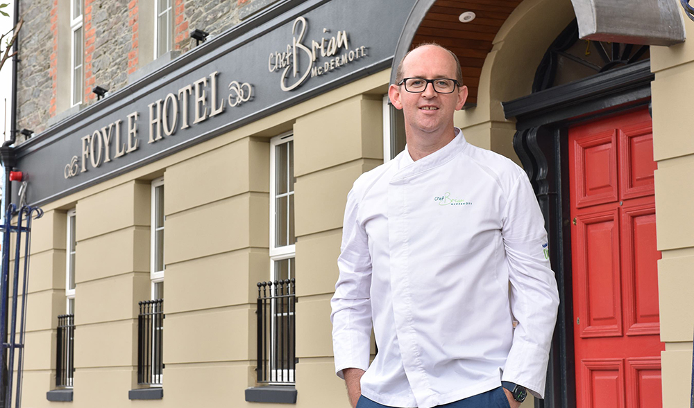 Chef Brian McDermott, The Foyle Hotel