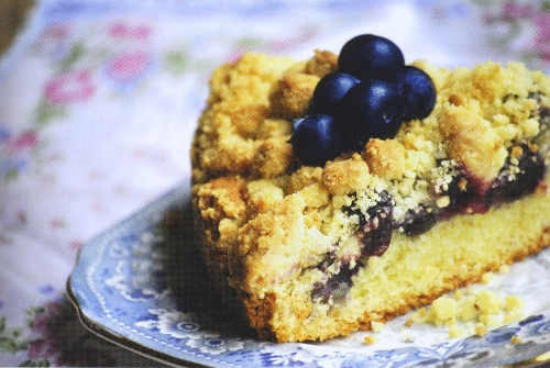 Blueberry Picnic Cake