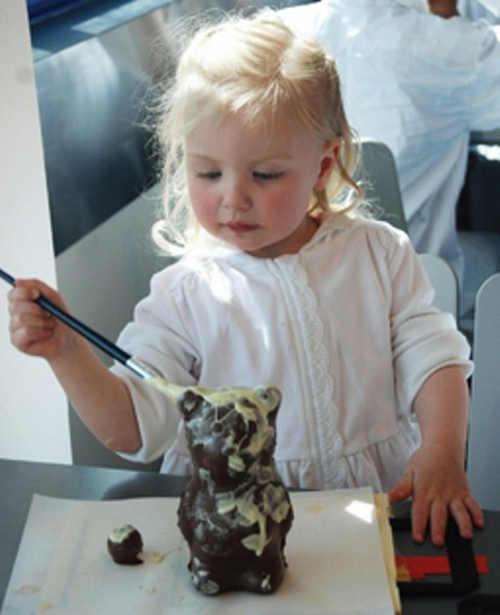 Cake Decorating at Butlers Chocolate Experience