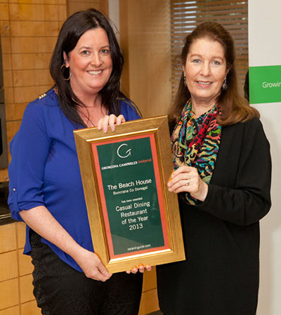 Casual Dining Restaurant of the Year 2013 | The Beach House, Buncrana, Co Donegal