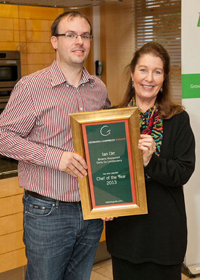 Chef of the Year 2013 - Ian Orr, Browns Restaurant & Champagne Lounge Derry City