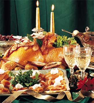 Christmas Dinner Recipe - Recipe for Christmas Dinner - Georgina ...