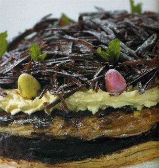 Layered Easter Chocolate Cake by Jenny Bristow
