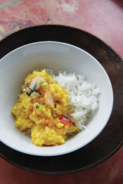 Easy Mung Lentil Curry - Anjum's New Indian (Quadrille paperback, €19.50