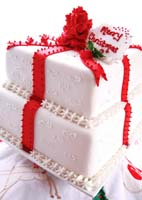 Edward Haydens Christmas Cake from Edward Entertains