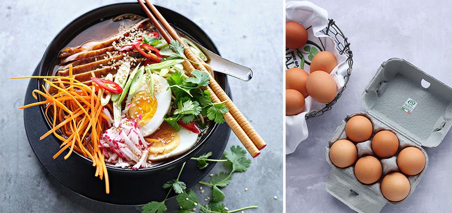 Eggs for Anytime, Pork Ramen, Kai, Galway
