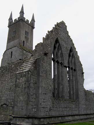 Ennis Friary - Ennis County Clare Ireland