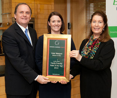 Georgina Campbell Family Friendly Hotel of the Year 2013 | Hotel Westport, Westport, Co Mayo