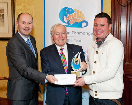 Jason Whooley, Fergal Quinn and George Stephens