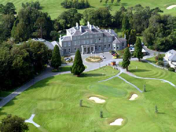 Aerial view of Faithlegg House & Golf Course