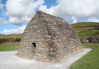 Gallarus Oratory & Gallarus Castle - Dingle Peninsula County Kerry Ireland