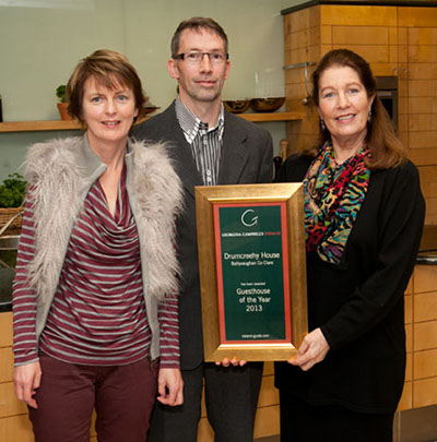 Guesthouse of the Year 2013 | Drumcreehy House, Ballyvaughan, Co Clare