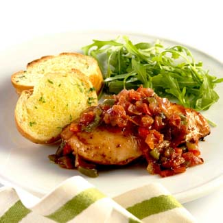 Honeyed Cajun Chicken with Mexican Salsa