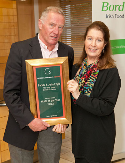 Hosts of the Year 2013 | Paddy & Julia Foyle, The Quay House, Clifden, Co Galway