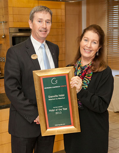 Hotel of the Year 2013 - Granville Hotel, Waterford City