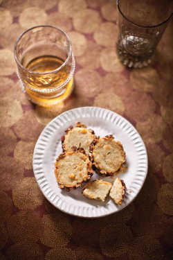 Blue Cheese and Pecan Crackers